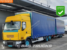 Lastbil med anhænger Renault Premium 430 glidende gardiner brugt