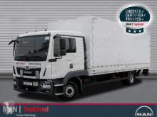 Camião MAN TGL 12.220 4X2 BL caixa aberta com lona usado