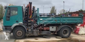 Iveco Cursor 260 E 31 truck used three-way side tipper