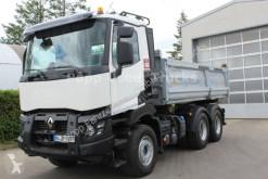 Renault C520 6x4 Meiler DSK*Bordmatik, truck used three-way side tipper