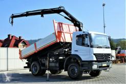 Ciężarówka platforma Mercedes Axor 1828 Kipper 4,20m + Kran+FUNK*Topzustand