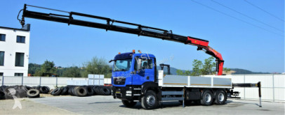 Camión MAN TGS 26.440 Pritsche 6,50 m+Kran/FUNK*Topzustand! caja abierta usado
