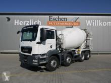 Camião MAN TGS 35.400 8x4 BB, Liebherr 9 m³, 5 Blattfedern betão betoneira / Misturador usado