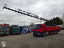 Camion Mercedes Actros 2541 Baustoffpr. HIAB 211 5x hydr *6,48m* plateau ridelles occasion