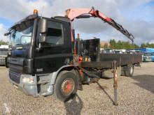 Lastbil flatbed sidetremmer DAF CF65-250 4x2 Fassi F150 Euro 4