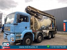 MAN 35 360 manual full steel Liebherr truck used concrete mixer