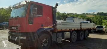 Camion cassone trasporto ferro Iveco Eurotech 260E43