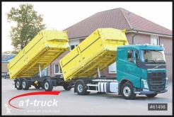 Camion remorque benne tri-benne Volvo FH 420 Kempf 3 Seitenkipper mit Anhänger
