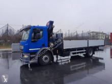 Vrachtwagen DAF LF 310 tweedehands platte bak boorden