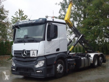 Camion polybenne Mercedes Actros 2545 6x2 EURO6 Abrollkipper Palfinger 22T