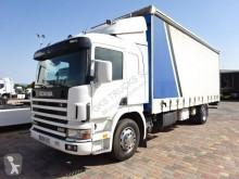 Camión Scania L 94L260 lonas deslizantes (PLFD) usado