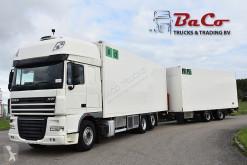 Lastbil med släp DAF XF 460 kylskåp mono-temperatur begagnad