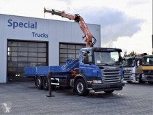 Scania flatbed truck P 340