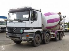 Mercedes concrete mixer truck Actros 3235 Betonmischer Stetter 9m³ Deutsch