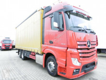 Camion Mercedes ACTROS 2545 BIG SPACE SCHIEBEPLANE EDSCHA LBW cu prelata si obloane second-hand