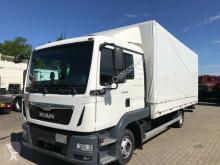 Camión lona corredera (tautliner) MAN TGL 8.180 Plane Euro 6 LBW AHK Bett Klima