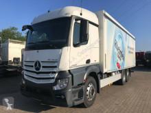 Mercedes beverage delivery flatbed truck Actros 2543 Stream. Getränkewagen Plane LBW AHK