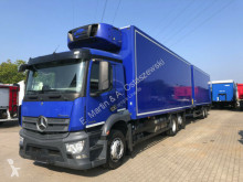 Mercedes refrigerated trailer truck Antos Antos 2536 Kühlkoffer Carrier 750 Kompletter Zug