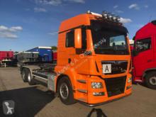 Camión multivolquete MAN TGS 26.500 Meiller RS21 Abrollkipper AHK Klima