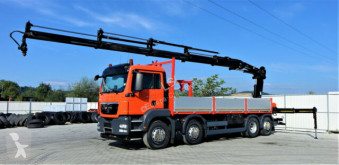 Camión caja abierta MAN TGS 35.400 Pritsche 6,90 m+Kran/FUNK*Topzustand!