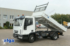 Iveco three-way side tipper truck 80E22K 4x2, AHK, Hydraulik, 220PS, 3 Sitz,Euro 5