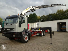 Camion Iveco Pritsche mit PK44002 8x hydr Funk Seilwinde plateau occasion
