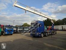 Camión caja abierta Scania R560 Pritsche mit HIAB 622 5x hydr. Funk 4-Punkt
