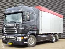 Scania R 500 truck used box