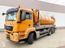 MAN TGS 26.320 6x2-4 BL 26.320 6x2-4 BL, Saugwagen ca. 14m³, Lenk-/Liftachse used sewer cleaner truck