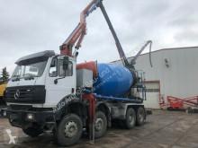 Camion pompe à béton Mercedes SK 3538/8x4 Pumi Schwing 22 m-7m3 Stetter