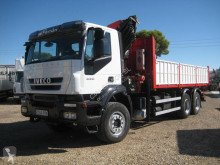 Iveco Trakker AD 260 T 33 truck used half-pipe tipper