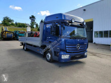 Mercedes-Benz Atego 4x2 flat bed truck used tautliner