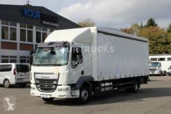 Camión lona corredera (tautliner) DAF LF 250 E6/Schlafkabine/Koffer-Plane/L 2.000kg