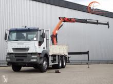 Camión caja abierta Iveco Trakker 350