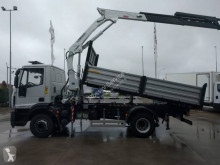 Iveco Eurocargo ML 160 E 22 P truck used three-way side tipper
