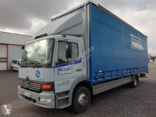 Camião Mercedes Atego 1318 cortinas deslizantes (plcd) usado