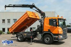 Camião tri-basculante Scania R280CB4x2, Hiab 099, Funk, Euro 5, Klima, AHK