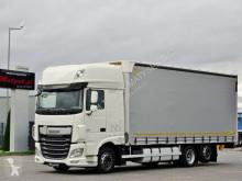 Camión lona DAF XF 460 /6X2 /EURO 6 / ACC / 7,7 M / 60 M3 /