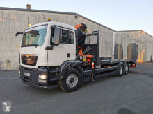 Camion MAN TGS 26.360 porte engins occasion