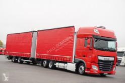 Camion DAF - 106 / 460 / SSC / ACC / E 6 / ZESTAW PRZEJAZDOWY + remorque rideaux coulissants (plsc) occasion