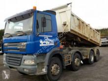 Camión volquete trilateral DAF CF430-8X4-EURO3-MEILLER DREISEITENKIPPER