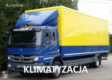 Ciężarówka furgon Mercedes ATEGO 1218 euro 5 Kontener winda klapa