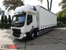 Volvo FL210 PLANDEKA WINDA 22 PALETY KLIMA WEBASTO TEMPOMAT PNEUMATYK truck used tautliner