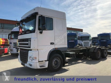 Camion châssis DAF *XF 105.460*SPACE CAP*EURO 5*RETARDER*LIFT ACHSE