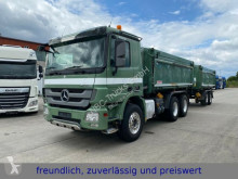 Mercedes three-way side tipper trailer truck Actros * ACTROS 2646 *DREISEITENKIPPER * + KEMPF ANHÄNG