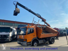 Mercedes ATEGO 1218 *PALFINGER LADEKRAN* truck used three-way side tipper