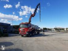 Camión Scania R420 caja abierta usado