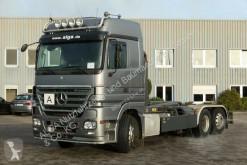 Camión Mercedes 2555 L Actros 6x2, Meiller RK 20.70, Klima, Lift multivolquete usado