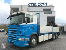 Camión caja abierta teleros Scania R 420 LB 6x2 Baustoff