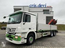 Camión caja abierta Mercedes 2555 6x2 V8 Fassi F290 | Retarder | Euro 5